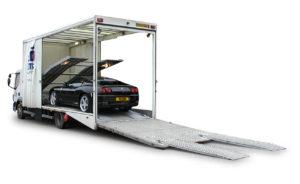 Enclosed Auto Transporter