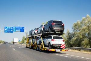 How cars are transported