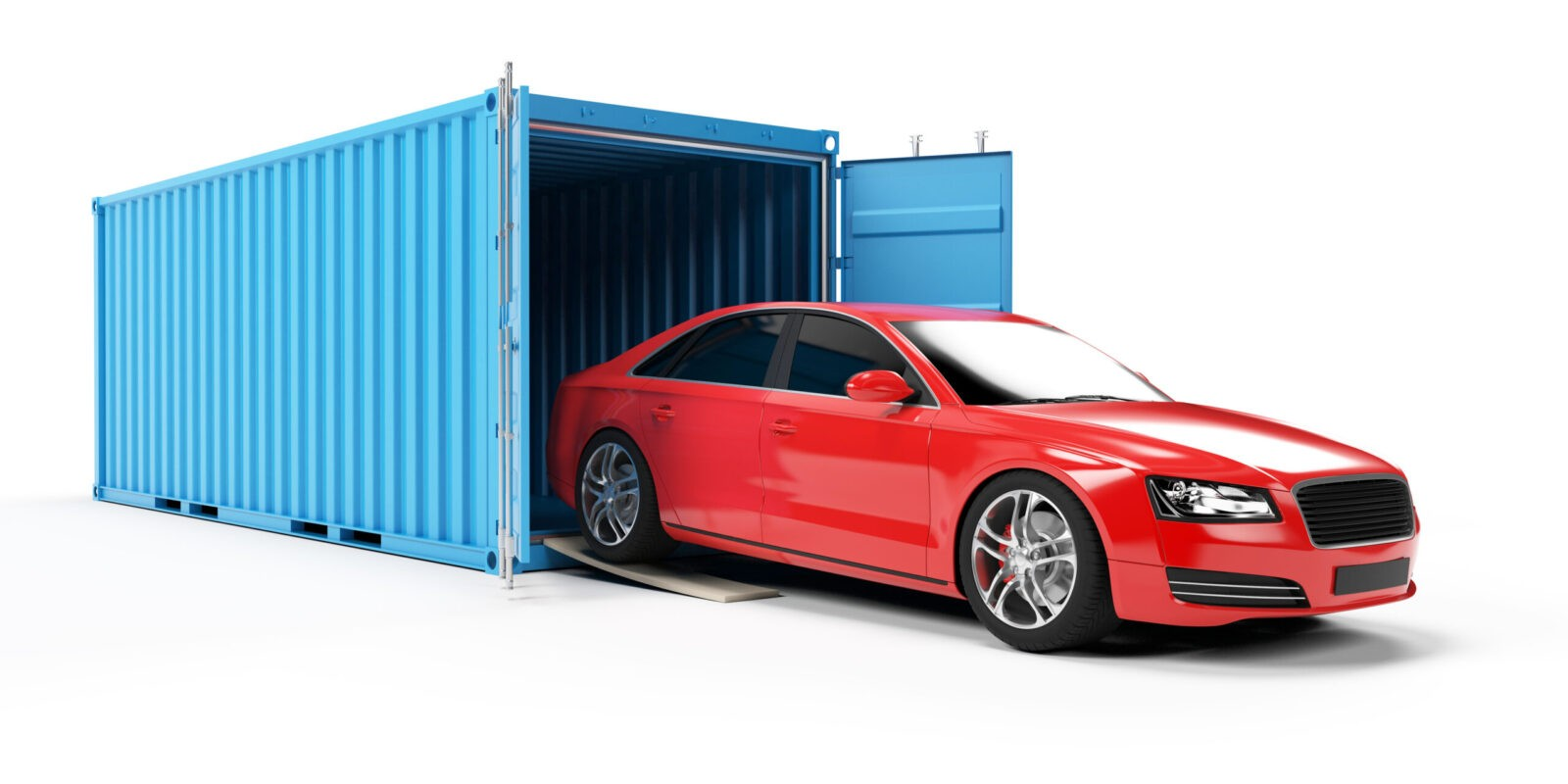 International Vehicle Shipping Container