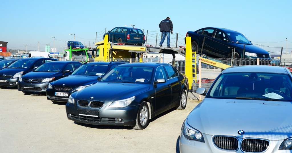 Auto Auction Vehicle Transport
