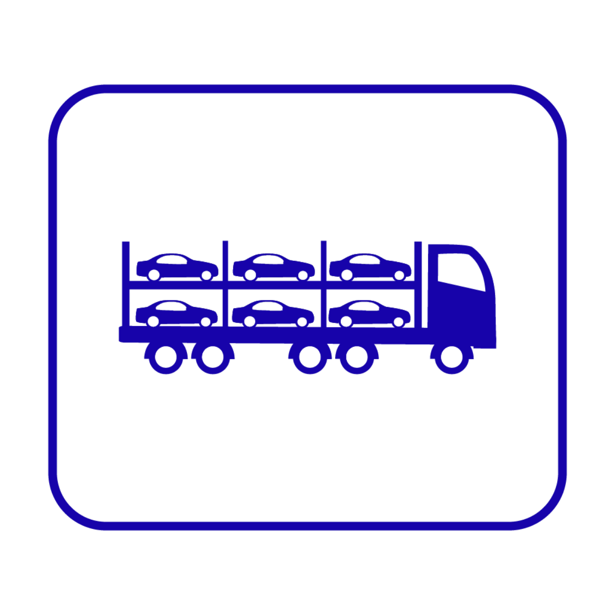 Open Carrier Auto Transport No Background
