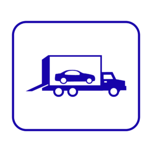 Enclosed Carrier Auto Transport Icon